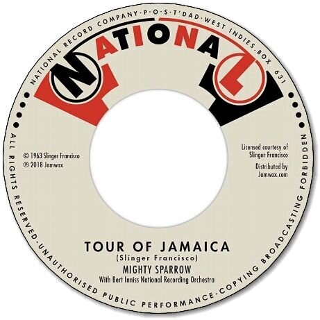 TOUR OF JAMAICA / I'LL BE AROUND(Bossa Nova)