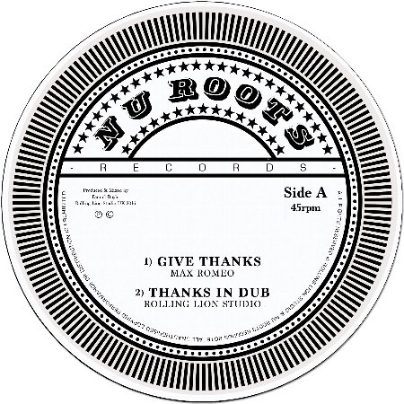GIVE THANKS / DRY BACK / HORNS IN DUB