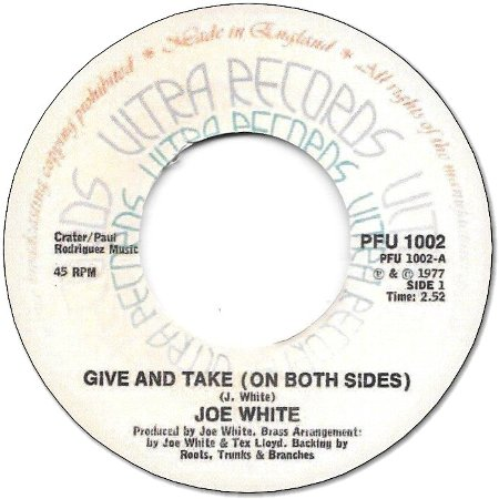 GIVE AND TAKE / ROOTS DUB