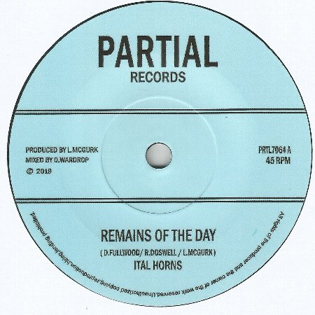 REMAINS OF THE DAY / DUB