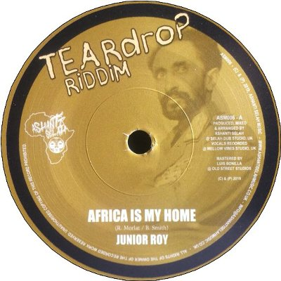 AFRICA IS MY HOME / AFRICA DUB