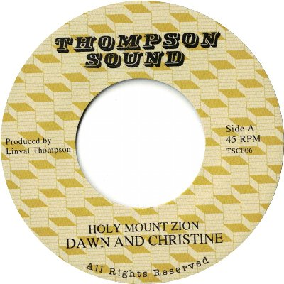 HOLY MOUNT ZION / SHOCKING ROCK