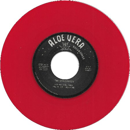 FOR HER EYES ONLY / THE CHAMP(Red Vinyl)