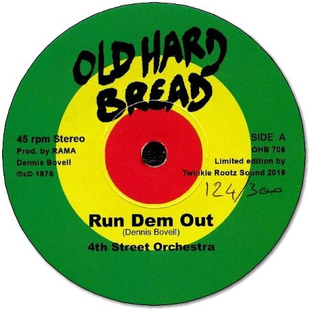 JAH SCHASE DEM / RUN DEM OUT(Ltd 300 copies)