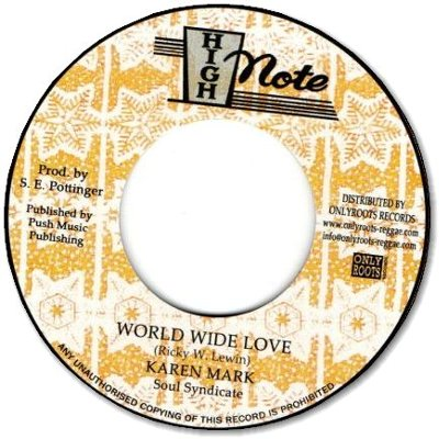 WORLD WIDE LOVE / DUB