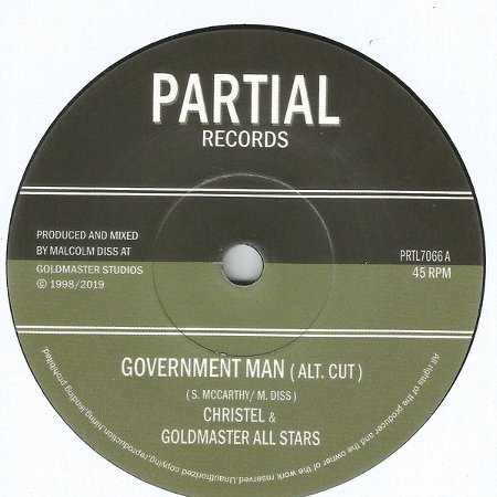 GOVERNMENT MAN / POLITICAL VERSION