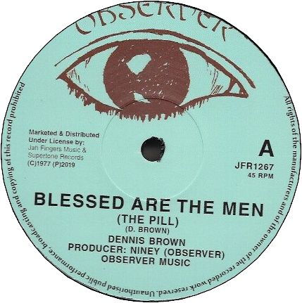 BLESSED ARE THE MEN / CRY CRY