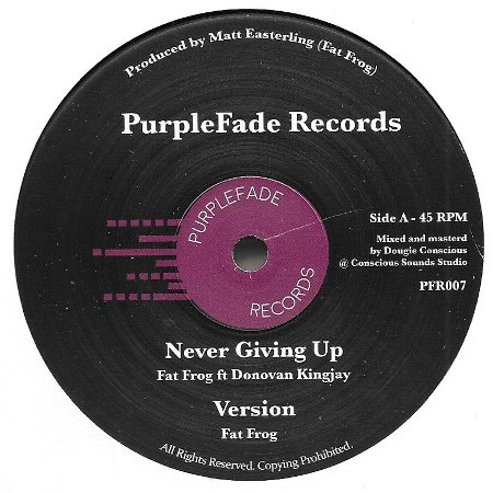 NEVER GIVING UP / MELODICA CUT