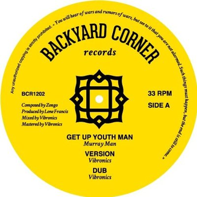 GET UP YOUTH MAN / STAND UP YOUTH MAN