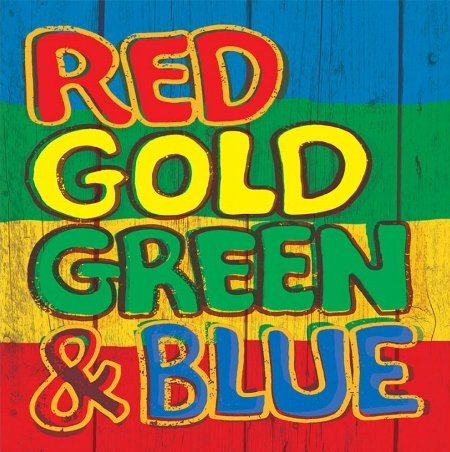 RED GOLD GREEN & BLUE(2LP/Gatefold)