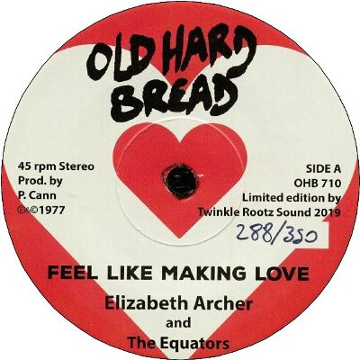 FEEL LIKE MAKING LOVE / DUB