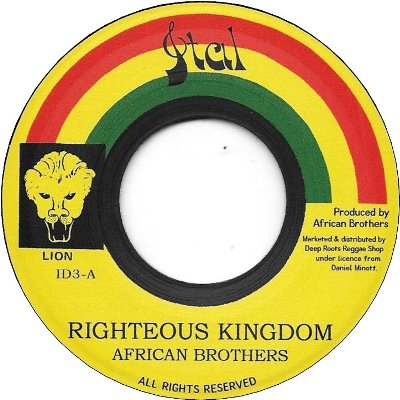 RIGHTEOUS KINGDOM / VERSION