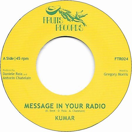 MESSAGE IN YOUR RADIO / DUB IN YOUR STEREO
