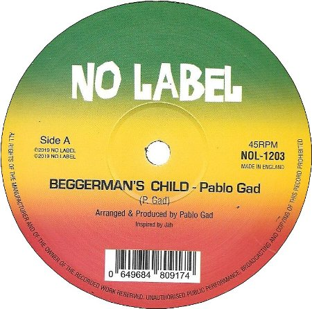 BEGGERMAN'S CHILD / POOR MAN vs. RICH MAN DUB