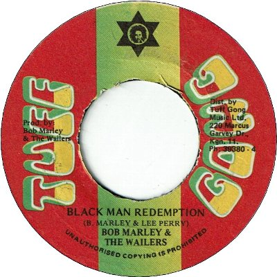 BLACK MAN REDEMPTION (VG- to VG) / VERSION (VG)