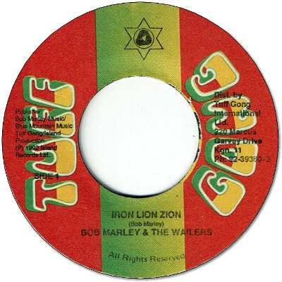 IRON LION ZION (VG+) / 12inch EDITED (VG+)