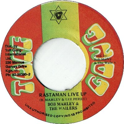 RASTAMAN LIVE UP (VG+) / VERSION