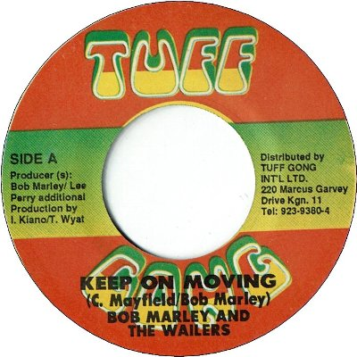 KEEP ON MOVING Remix (VG+) / PIMPERS PARADISE (VG+)