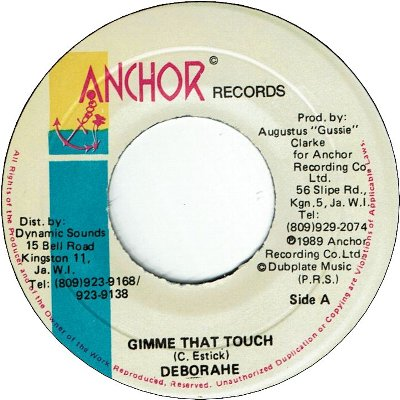 GIMME THAT TOUCH (VG+)