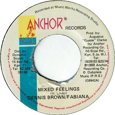 MIXED FEELING (VG+)