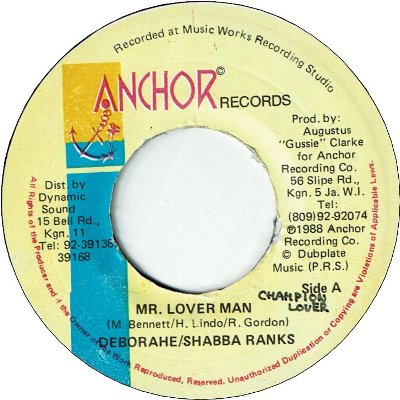 Mr.LOVER MAN (VG+/WOL)