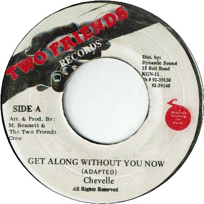 GET ALONG WITHOUT YOU NOW (VG+)
