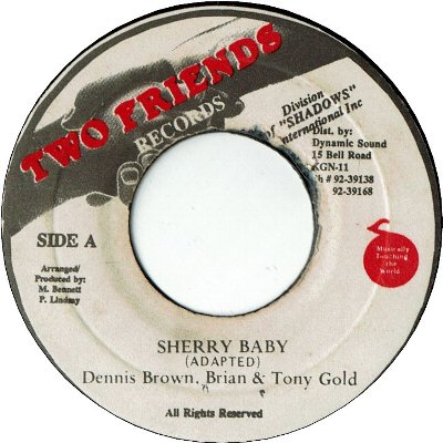 SHERRY BABY (VG+) / ACCAPELLA