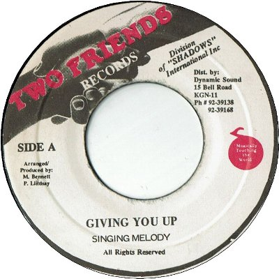 GIVING YOU UP (VG+)