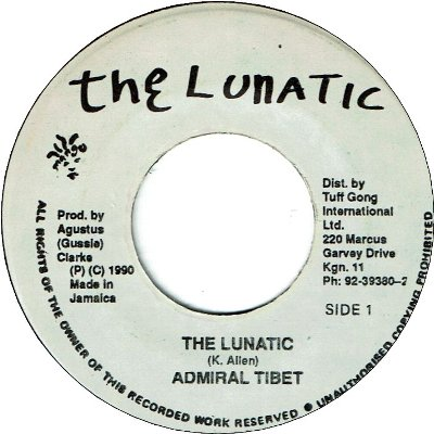 THE LUNATIC (VG+) / THE LUNATIC THEME (VG+)