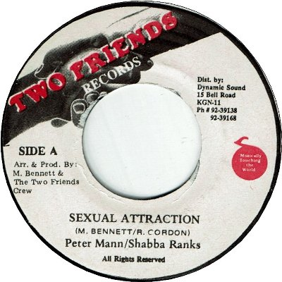 SEXUAL ATTRACTION (VG+)