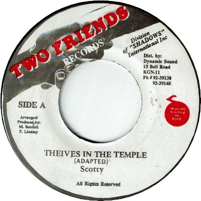 THIEVES IN THE TEMPLE (VG+)