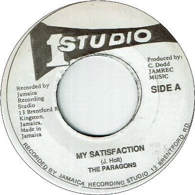 MY SATISFACTION (VG) / VERSION (VG)