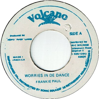 WORRIES IN THE DANCE (VG+)