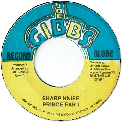 SHARP KNIFE
