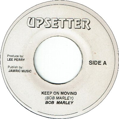 KEEP ON MOVING (VG+) / VERSION (VG)