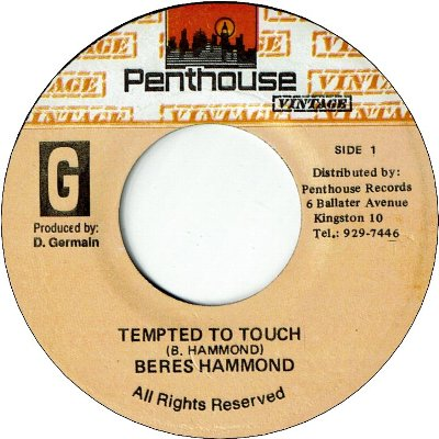TEMPTED TO TOUCH (VG+) / who say version
