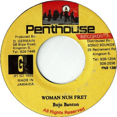 WOMAN NUH FRET (VG to VG+)