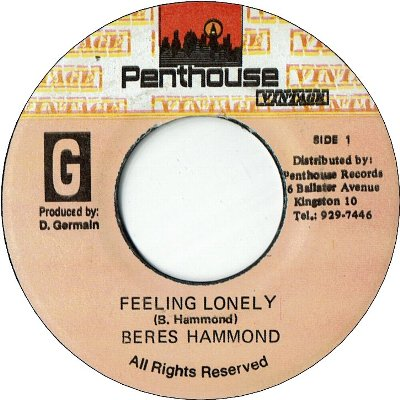 FEELING LONELY (VG+) / Love I Can Feel version (VG)