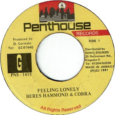 FEELING LONELY (VG+)