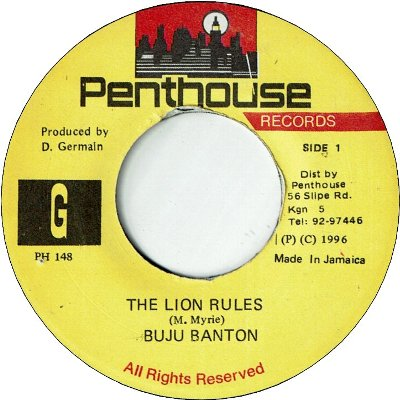 THE LION RULES (VG+) / Remix (VG+)