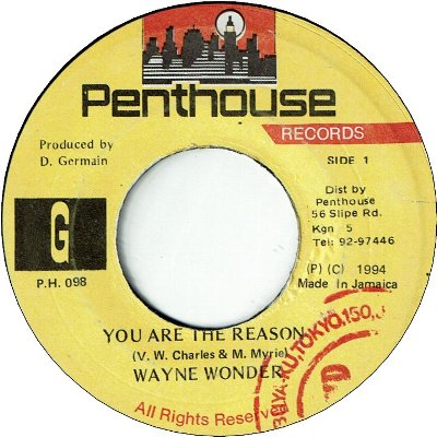 YOU ARE THE REASON (VG+/WOL) / REMIX (VG+)