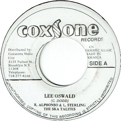 LEE OSWALD (VG) / BY MY SIDE (VG+)