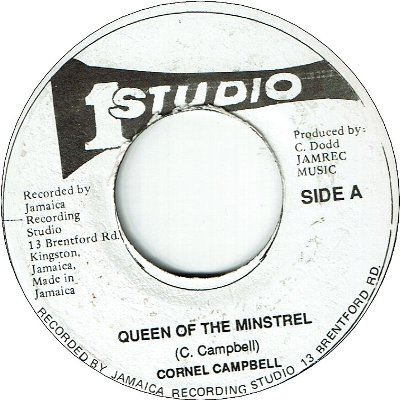 QUEEN OF THE MINSTREL (VG) / VERSION (VG)