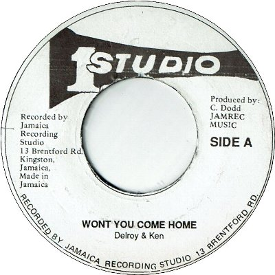 WON'T YOU COME HOME (VG-) / VERSION (G)