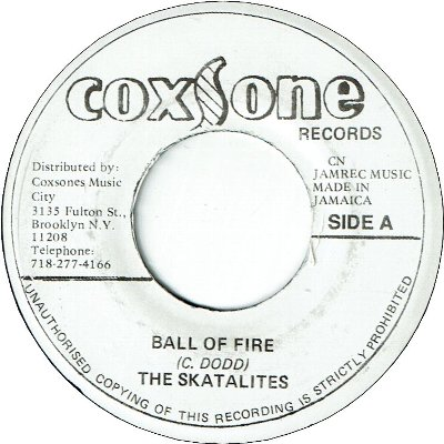 BALL OF FIRE (VG+) /EVERYTIME (VG+)