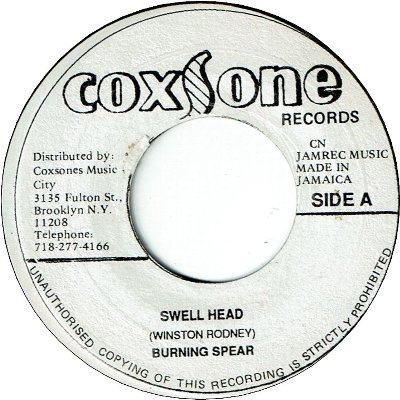 SWELL HEAD ((VG+) / VERSION (VG)