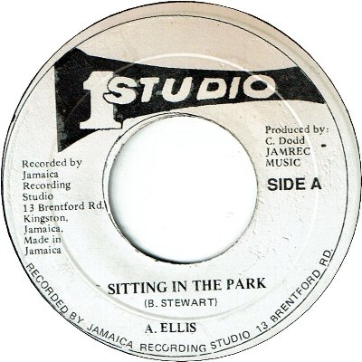 SITTING IN THE PARK (VG+) / VERSION (VG+)