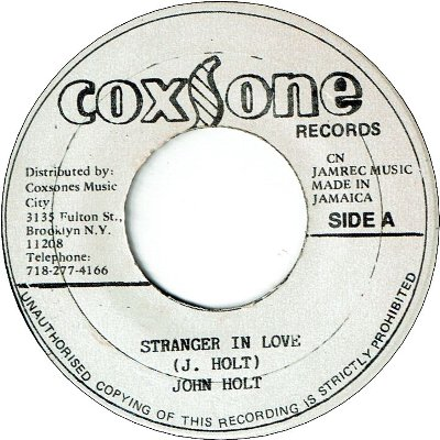 STRANGER IN LOVE (VG+) / SOUL STEW (VG+)