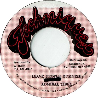 LEAVE PEOPLE BUSINESS (VG)