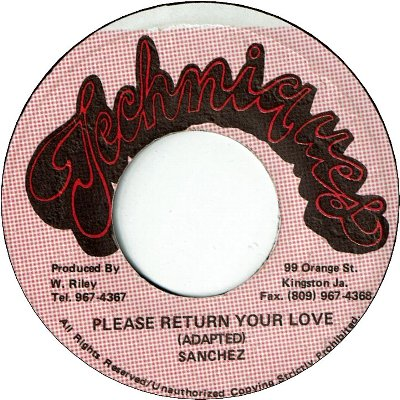 PLEASE RETURN YOUR LOVE (VG)